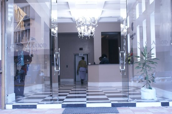 The Clarion Hotel: Entrace