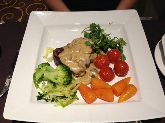 Treglos Hotel: Fillet Steak