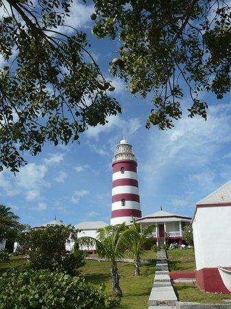Le phare de Hope Town : Historic Marine marker!