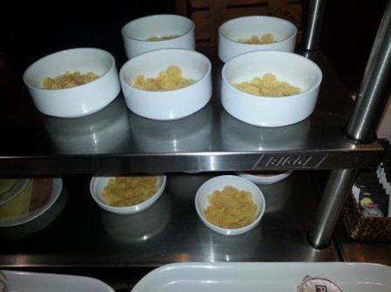 Refugio Vertice Paine Grande: Frühstücksportionen