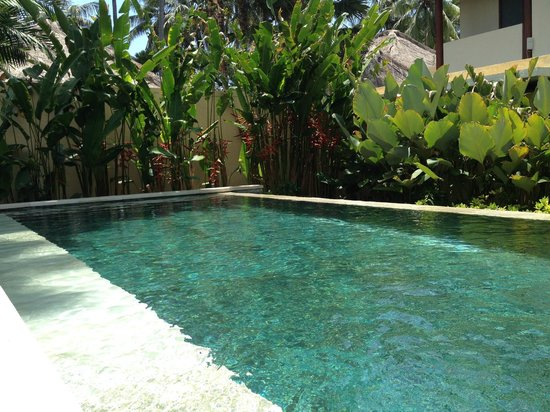 Qunci Villas Hotel: Villa with private pool.