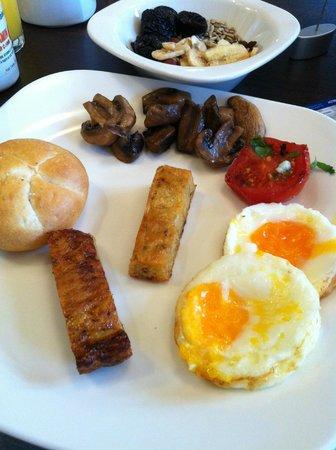 Park Inn Hotel Prague : Breakfast