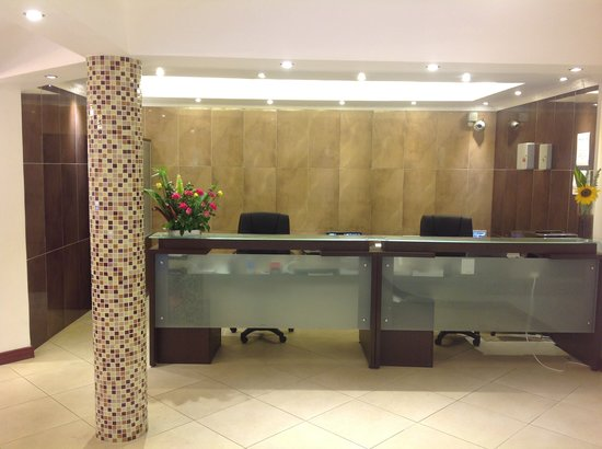 Progressive Park Hotel: Reception