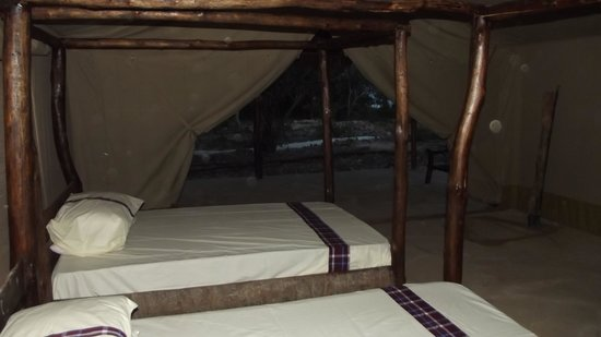 Galu Getaway: inside the tent