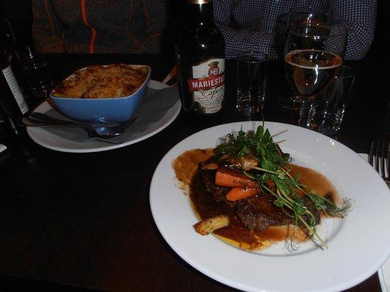 Scandic Ariadne : Dinner Entecote