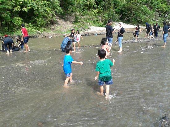 Sianok canyon: Kecerian bermain di ngarai