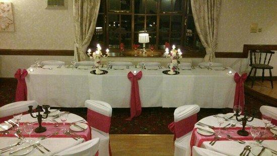 Breeze Hill Hotel: Wedding set up