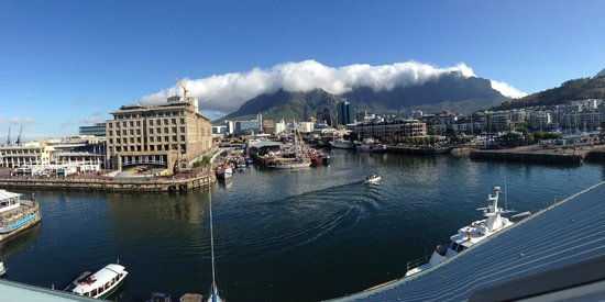 City Lodge Hotel V&A Waterfront: View from my room.