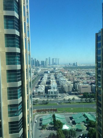 Grand Millennium Al Wahda : view from room