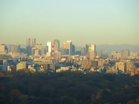 Palace Hotel Tokyo : 部屋からの眺め