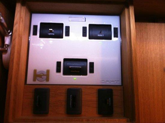 Hotel Galileo: Pour le rechargement des portable, pratique