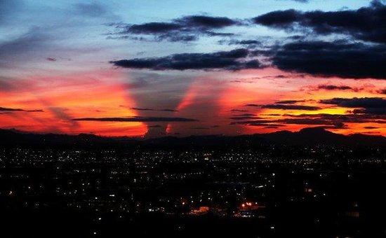 Radisson AR Hotel Bogota Airport: Vista de la ciudad desde ar hotel