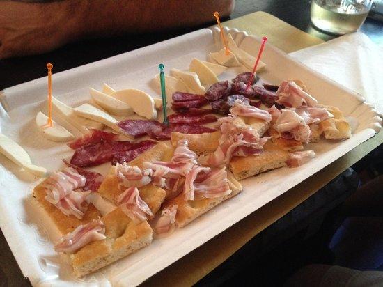 Da Ciro Taverna Napoletana: Meats & Cheese