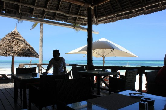 Melia Zanzibar : Cafe on the beach