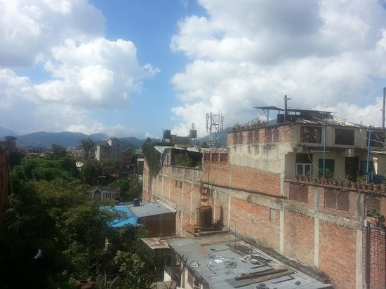 Trekkers' Home: View from rooftop deck