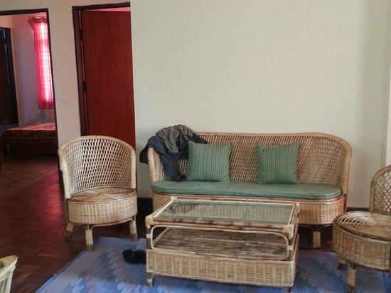 Trekkers' Home: Living room