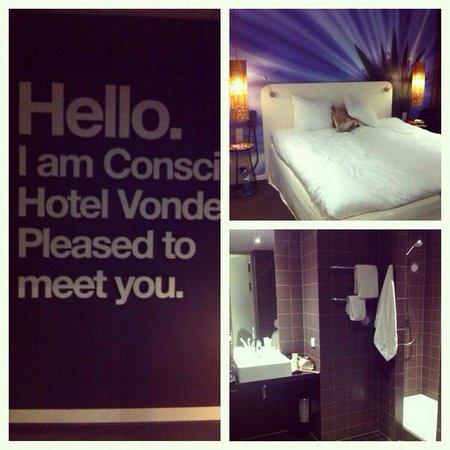 Conscious Hotel Vondelpark: Наш номер