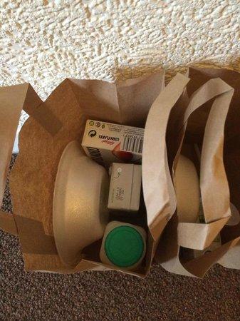St. Enoch Hotel: Breakfast bag in the morning