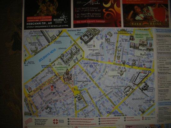 Pushka Inn Hotel : Отель на карте
