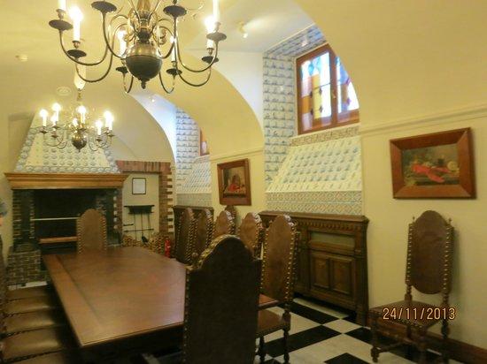 The National Congress Palace (Constantine Palace): Полуподвал.