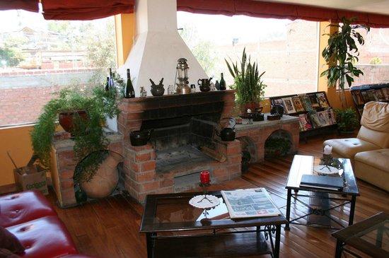 Churup Guest House: Lounge area