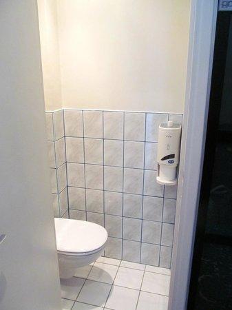 Hotel Peyris Opera: The Toilet.