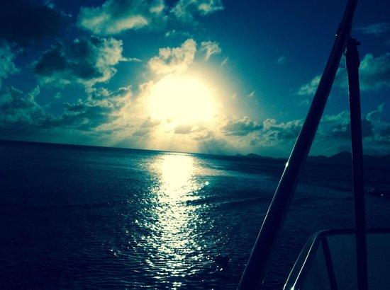 Virgin Motor Yachts: Lovely sunsets