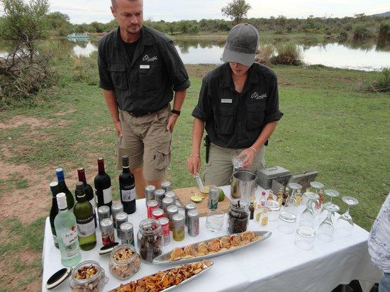 Marataba Safari Lodge: Sunset Drinks