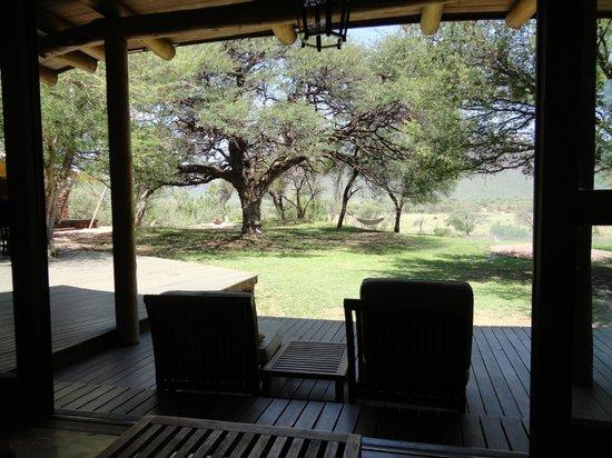 Marataba Safari Lodge: view