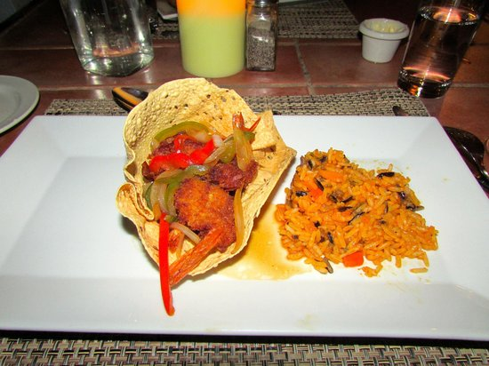 Cocobay Resort: One of our delicious dinners