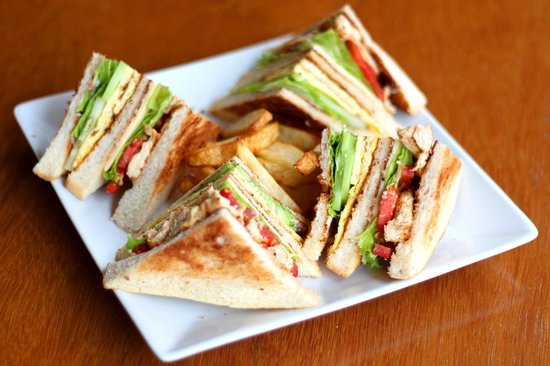 Thanakha Garden: Club sandwich