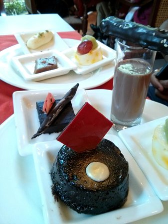 Le Jardin: Desserts