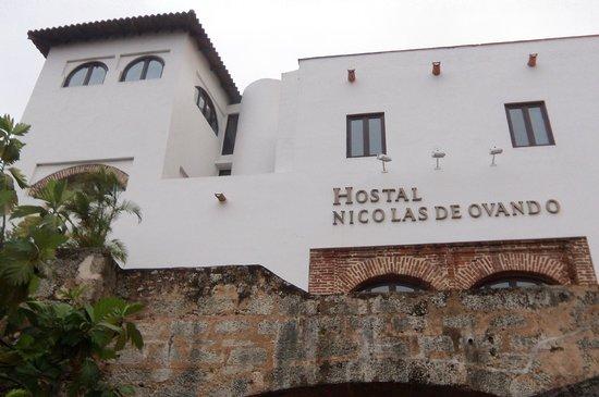 Hodelpa Nicolas de Ovando: The back of the hotel.