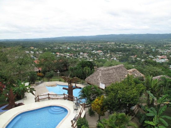 Cahal Pech Village Resort: The View from my Room on the Third Floor
