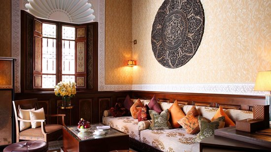 Royal Mansour Marrakech: Living room