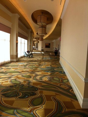 Waldorf Astoria Orlando: Long beautiful hallways