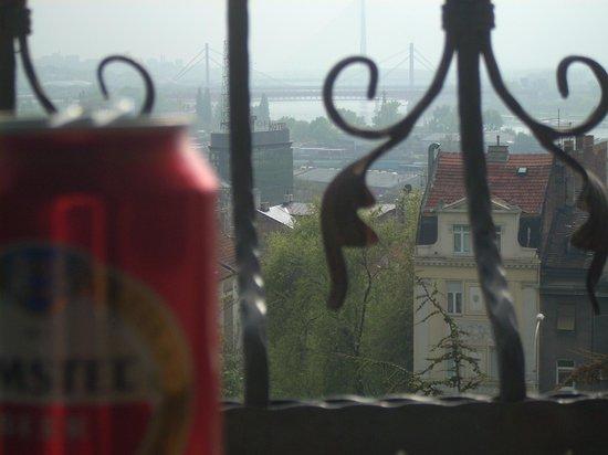 Go2 Hostel Belgrade: вид из номера