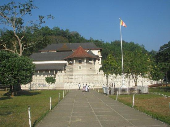 Cinnamon Citadel Kandy: Le Dalada Maligawa, le temple avec la relique de la Dent de Bouddha