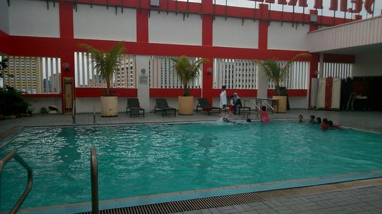Hotel Sentral Melaka Pool Was Nice No Kids Though