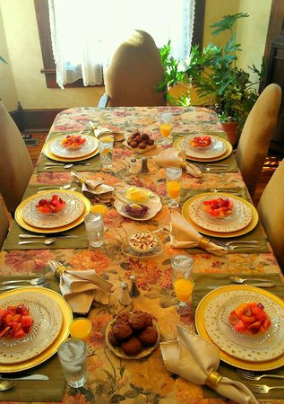 Weston Bed & Breakfast: Dining Room