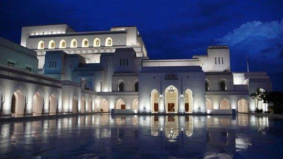 Royal Opera House: Die Oper nach einem seltenen Regen