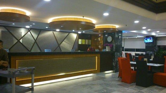 Hotel Sentral Melaka: reception