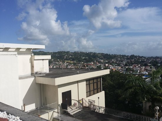 Hilton Trinidad and Conference Centre: View from the rooftop patio