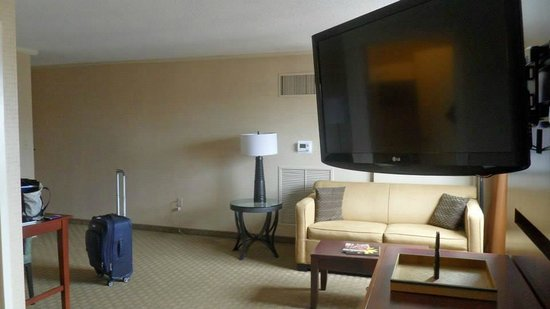 Embassy Suites by Hilton Baltimore - Inner Harbor: Room includes pullout couch