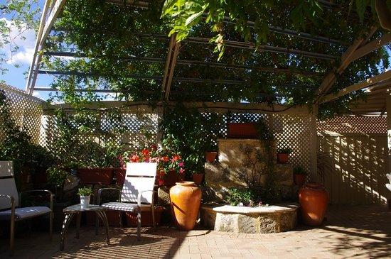 Astoria Retreat Bed and Breakfast: Backyard Patio