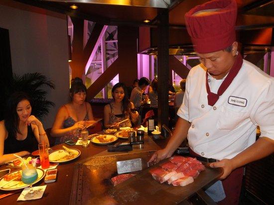 Tanaka of Tokyo Central : Steak anyone?