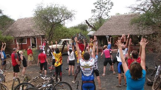 Maasai Simba Camp : Biking at the ranch