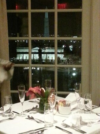 View From Our Table Of White House Top