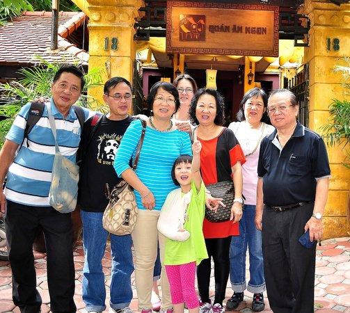 Hanoi Four Seasons Hotel: Quan an ngon