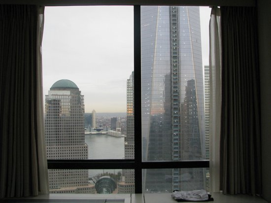 Millenium Hilton: View from room 4611